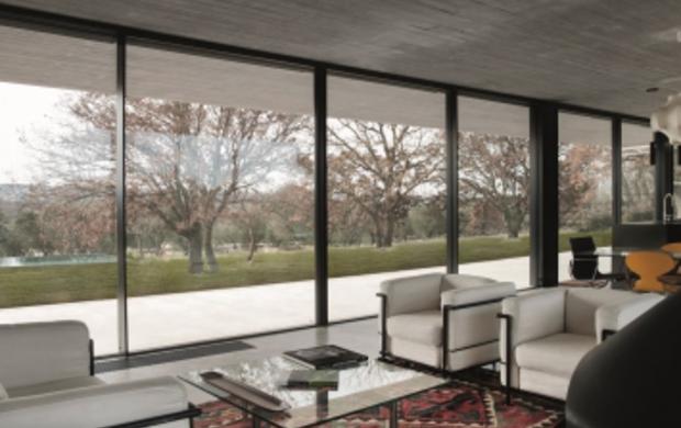 Minimal design wide vision porte e finestre scorrevoli in alluminio dalla de carlo guidafinestra - Finestre de carlo ...