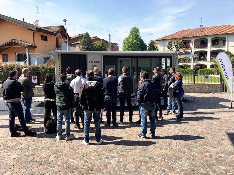 Schüco Innovation Box 2019 ha un roadshow da +30%