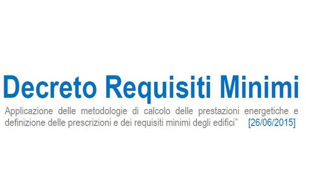 Decreto Requisiti Minimi E Involucro, Serramenti, Chiusure, Tende E Vetri.  Le Associazioni. U201c