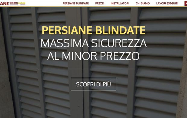 Persiane blindate: certificate, Made in Italy, e al minor prezzo ...