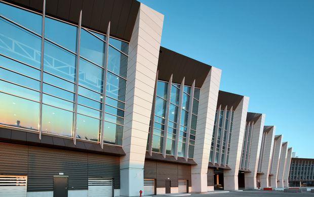 Vetro per architettura: il u201cconnectoru201d dellaeroporto di bruxelles