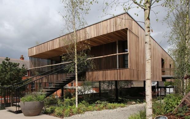 Legno per Maggie Oldham di dRMM Architects