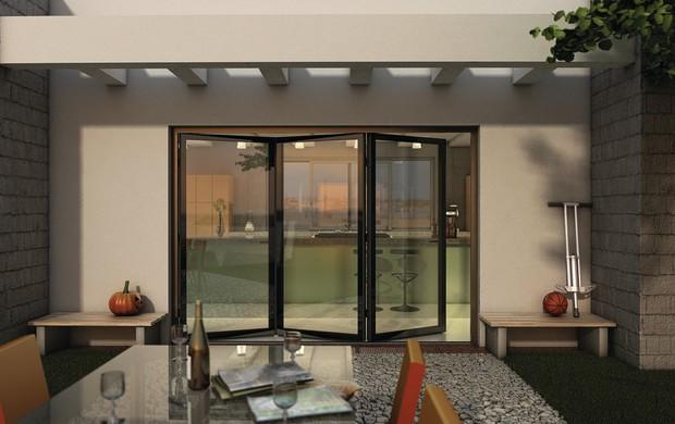 Finstral fin project cristal ora anche per porte finestre - Porte finestre a libro ...