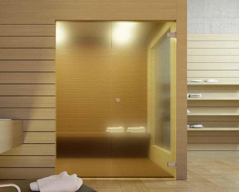 Accessori porte: kit per porte vetrate di sauna e bagno turco ...