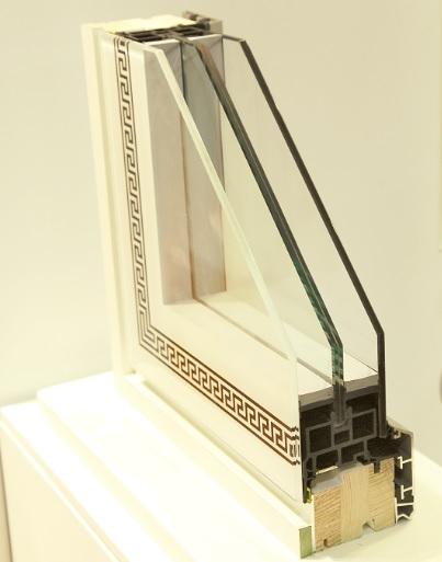 monolite finestra tuttovetro poliammide legno e