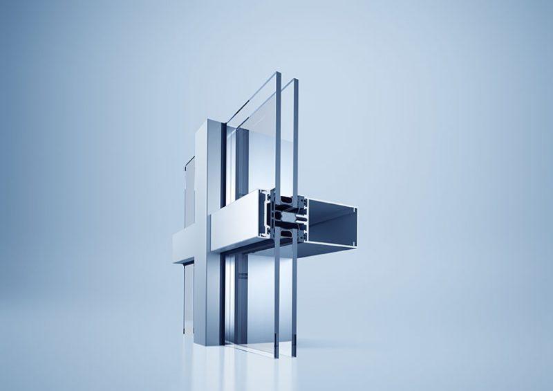 Sistema di facciata heroal C 50 – Efficienza e convenienza