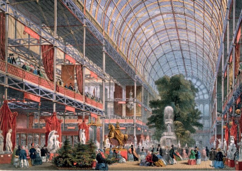 Londra 1851:Crystal Palace, nascono le architetture di vetro e metallo