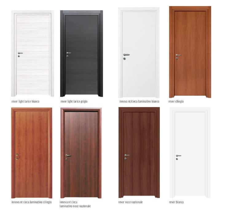 Porte In Larice Bianco.Porte Per Interni Rever Light Di Nusco Reversibili A Pronta Consegna Guidafinestra