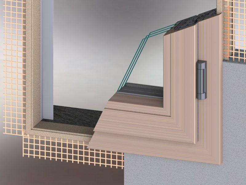 Da mixall eplu il controtelaio termoisolato per tutti i - Controtelaio finestra pvc ...