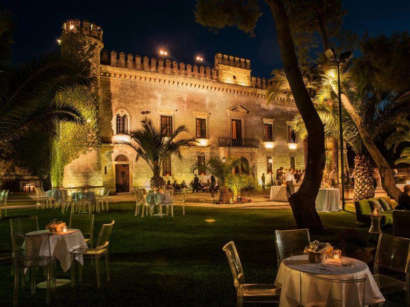 Castello Monaci in Salento avrà i serramenti Secco Sistemi