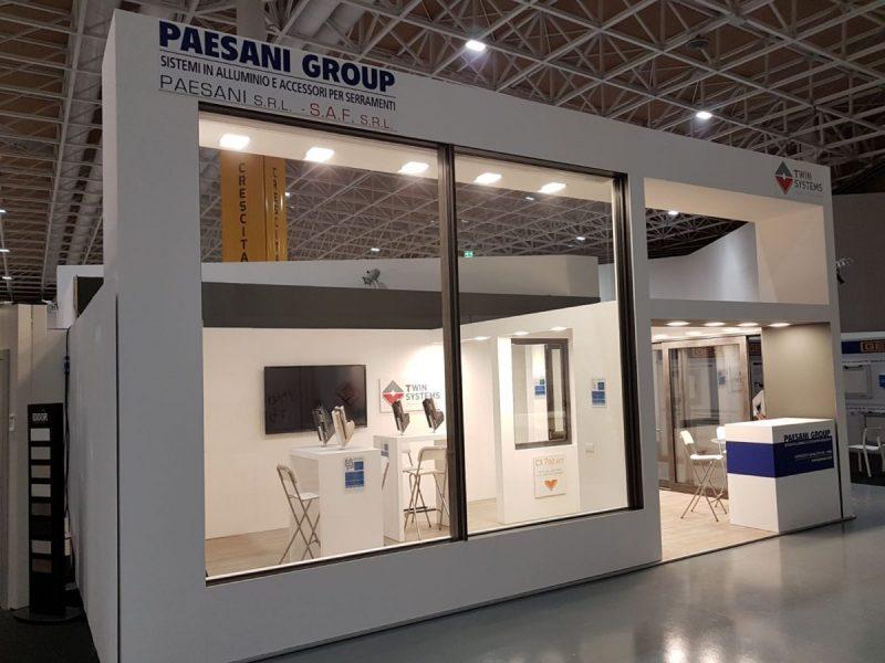 Finestre in alluminio: Paesani a Serramentour con CX700 AST