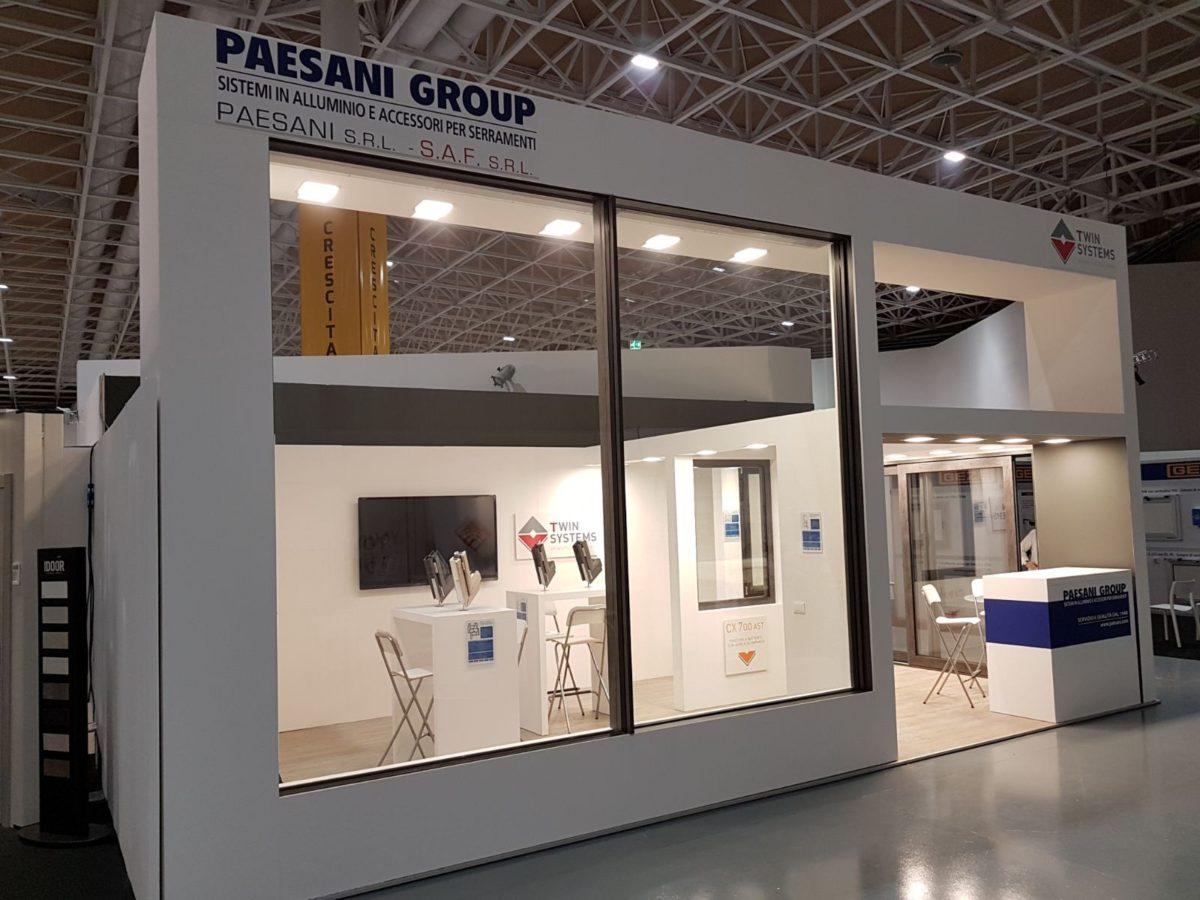 Rivista Porte E Finestre finestre in alluminio: paesani a serramentour con cx700 ast