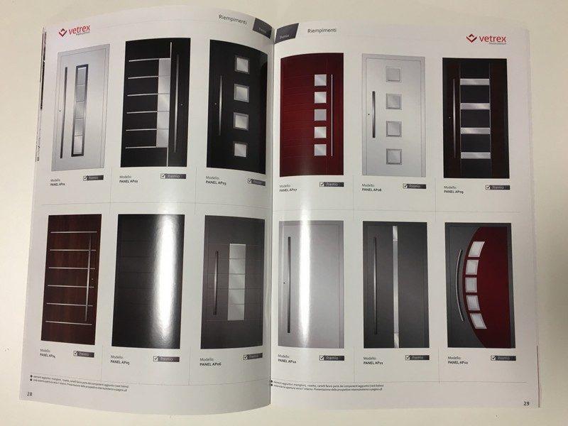 Vetrex: 4000 modelli di porte d'ingresso