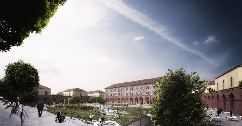 Ristrutturazione a Torino. La trasformazione della Caserma Lamarmora