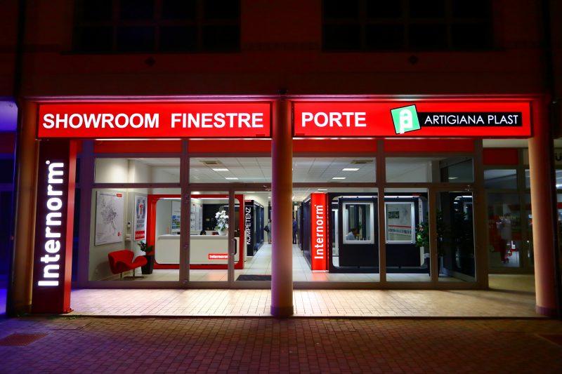 Finestre Internorm nel nuovo flagship store di Cesena