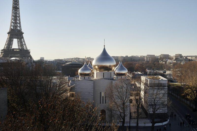 Acciaio Secco Sistemi per il Centro Russo Ortodosso a Parigi