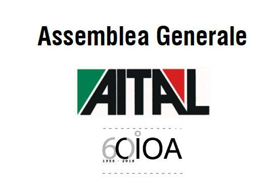 Finiture alluminio: Assemblea Generale 2018 Aital