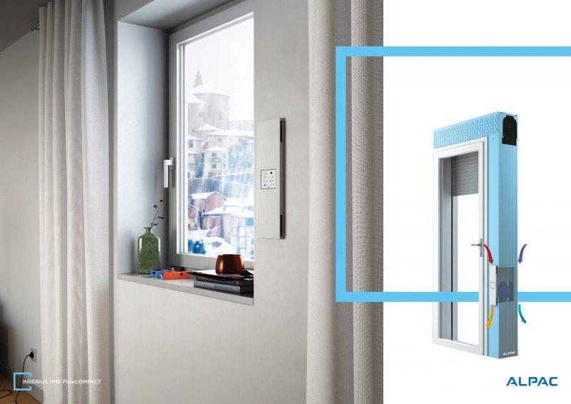 Ventilazione Alpac per la facciata interattiva Cellia