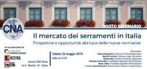 Incontro dei Serramentisti CNA a Siena