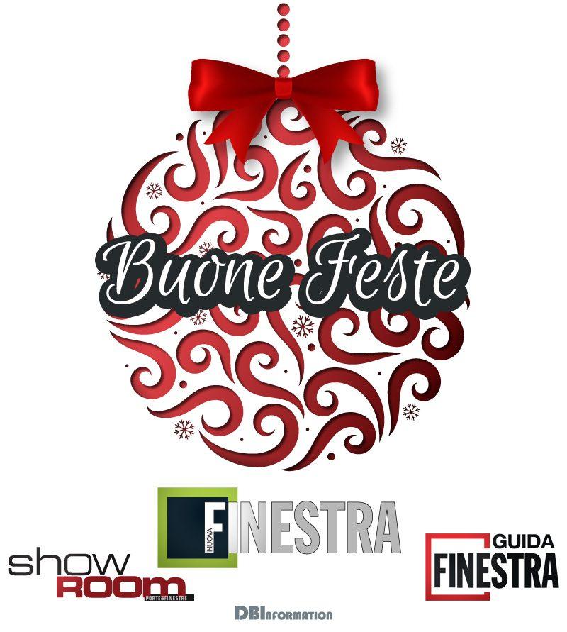 Auguri dalla redazione di Nuova Finestra, Show room e Guidafinestra
