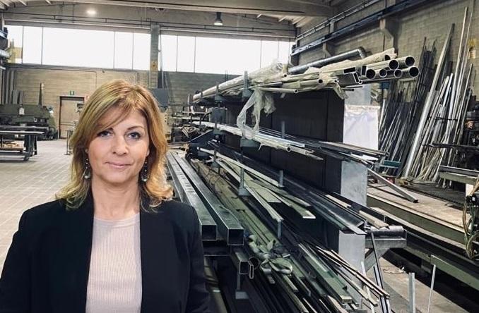Barbara Ramaioli alla testa di Confartigianato Carpenteria Meccanica