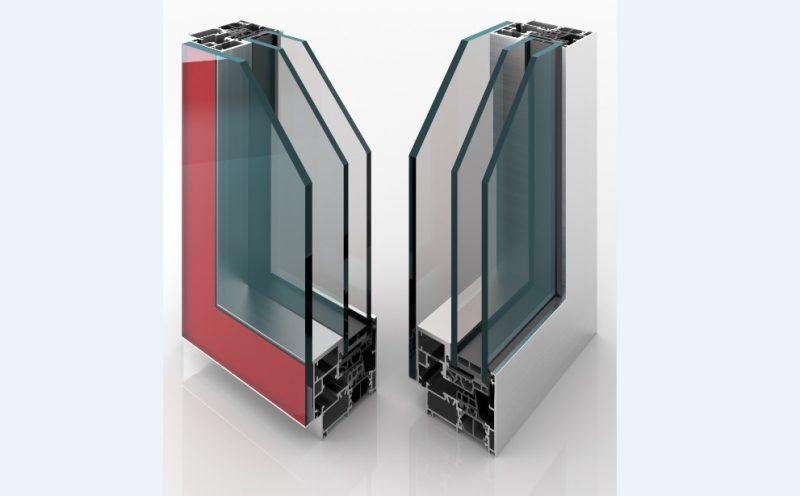 Finestre in alluminio Twin Systems CX 700 ASG. Dove vince il vetro