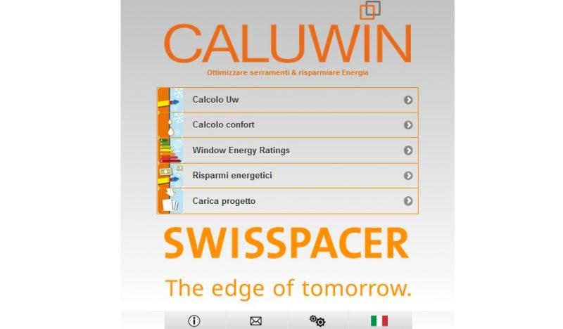 Software per serramenti. Caluwin ora con profili e vetrocamera di marca