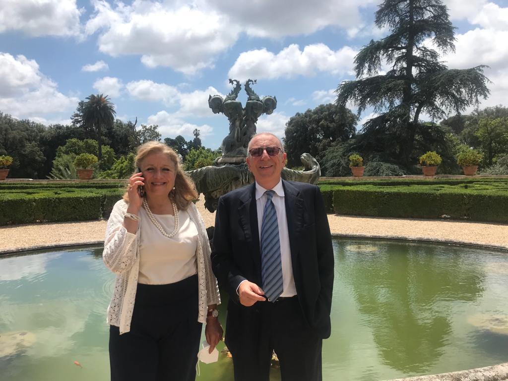 Carla Tomasi e Angelo Artale