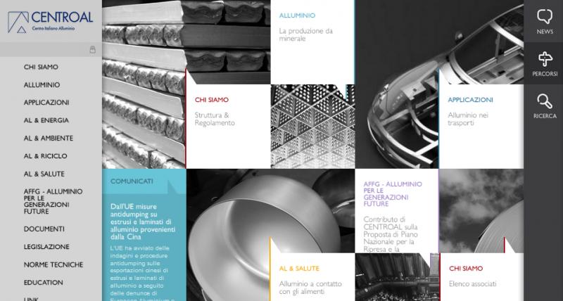 Centroal: massima visibilità all'alluminio