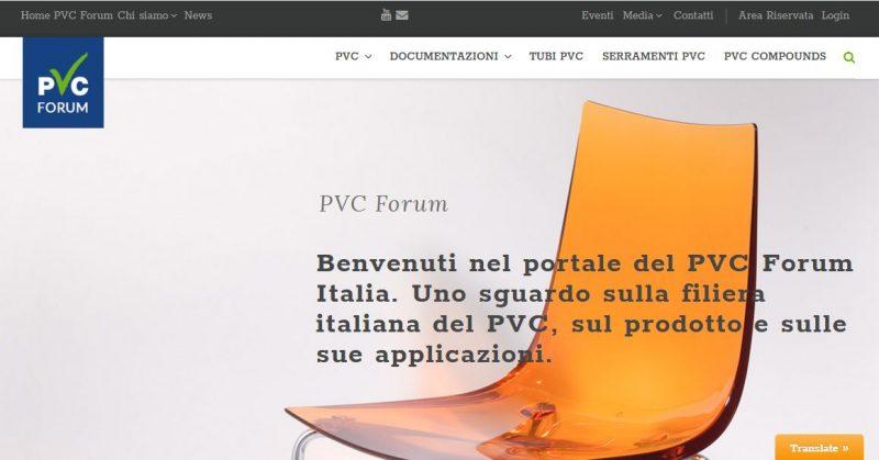 PVC Forum: un nuovo sito
