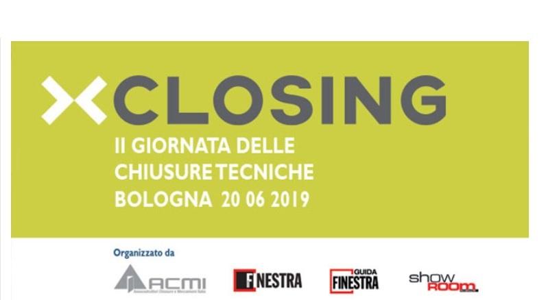 Chiusure Tecniche al Closing 2019. Bologna, 20 giugno