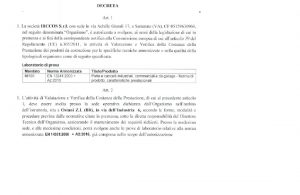 Decreto MISE IRCCOS