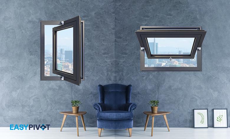 Easy Pivot di Master Italy, cerniere per finestre a bilico