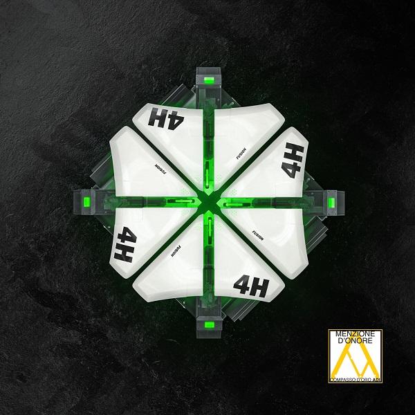 Menzione d'onore al Compasso d'Oro per Fusion 4H di Emmegi