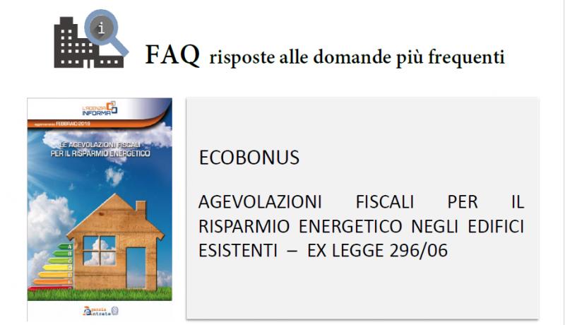 Enea e Bonus casa. Le FAQ su serramenti, porte, persiane e tapparelle