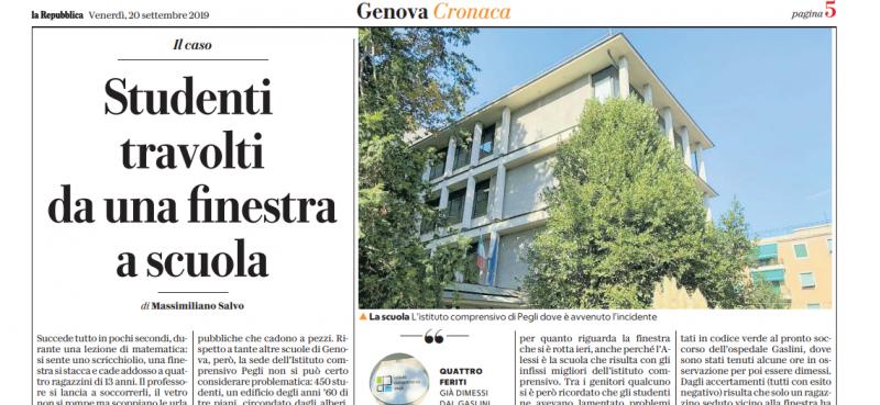 Mala scuola. Ancora una finestra sugli studenti, a Genova
