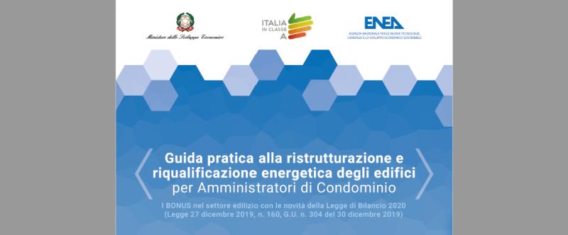Condomìni ed efficienza energetica: guida Enea per amministratori