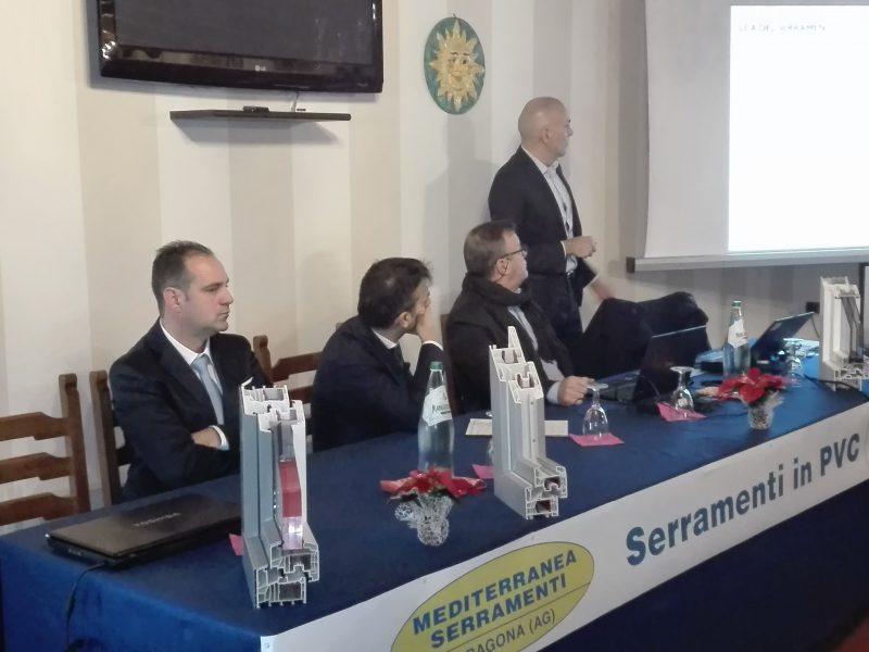 Meeting Mediterranea Serramenti sui serramenti in Pvc