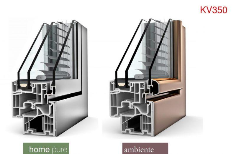 Finestre pvc al la nuova kv350 internorm con oscurante integrato guidafinestra - Finestre pvc forum ...