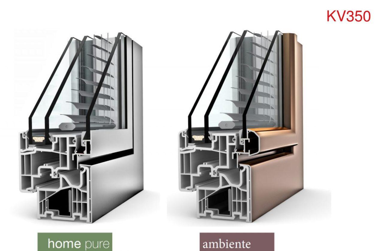 Finestre pvc al la nuova kv350 internorm con oscurante for Internorm forum