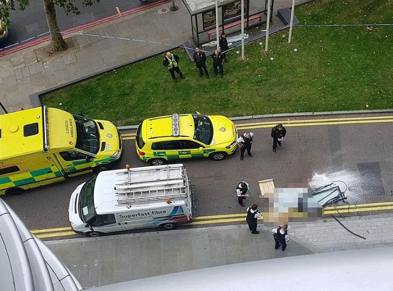 Tragedia a Londra. Finestra killer cade da grattacielo