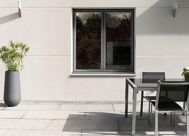Finestre in alluminio arriva in italia k line la finestra luminosa guidafinestra - Finestre in alluminio roma ...