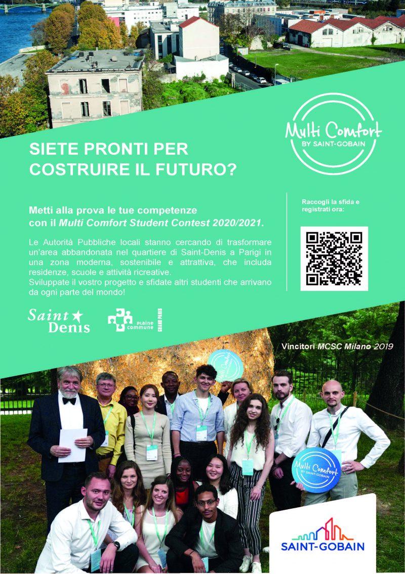 Multi Comfort Student Contest 2021 di Saint-Gobain al via