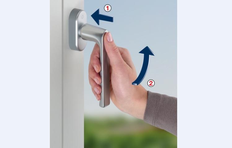 Protezione antieffrazione delle finestre con martelline SecuForte Hoppe
