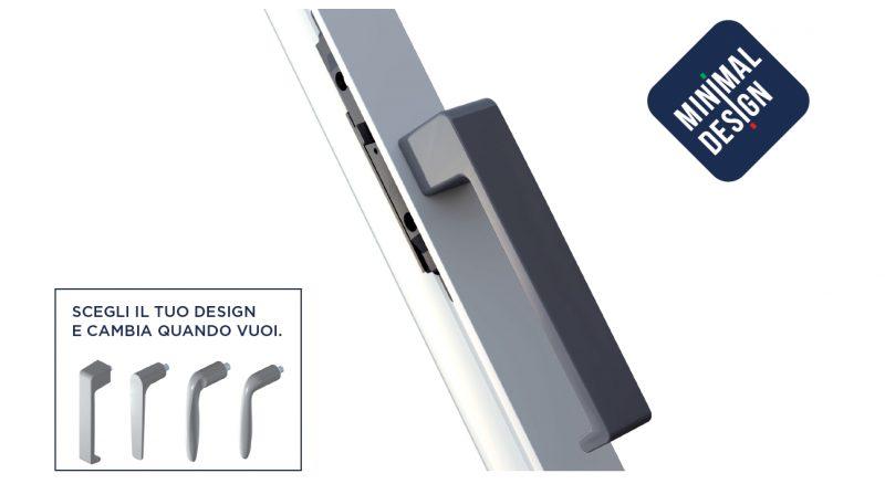 Accessori per serramenti: ecco Minimal Design