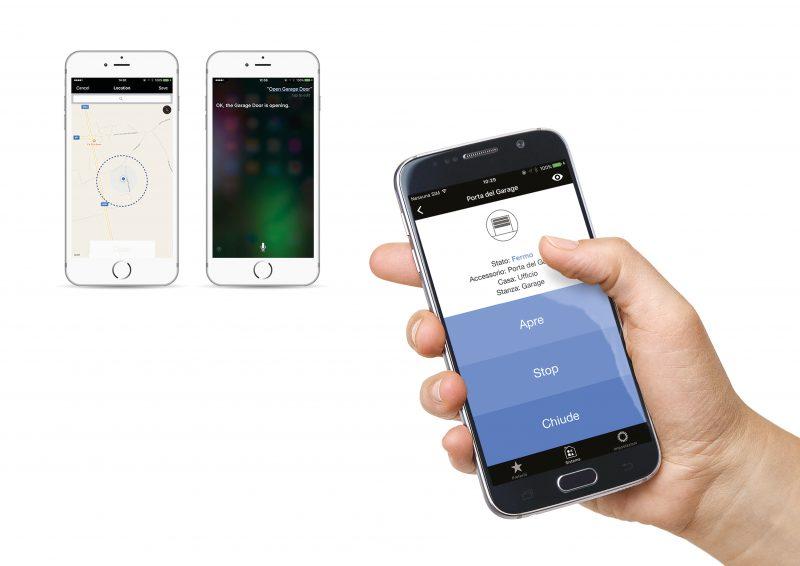 Automazioni porte e cancelli nice per apple homekit guidafinestra