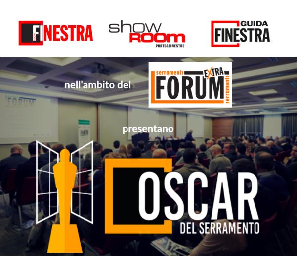 Nasce l'Oscar del Serramento per finestre, porte di ingresso e porte interne
