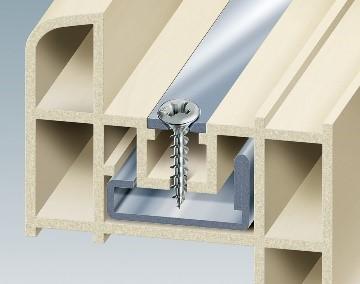 Framex PVC Mustad, la vite per fissaggio su profili in PVC