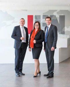 Da sinistra: Christian e Anette Klinger, Stephan Kubinger