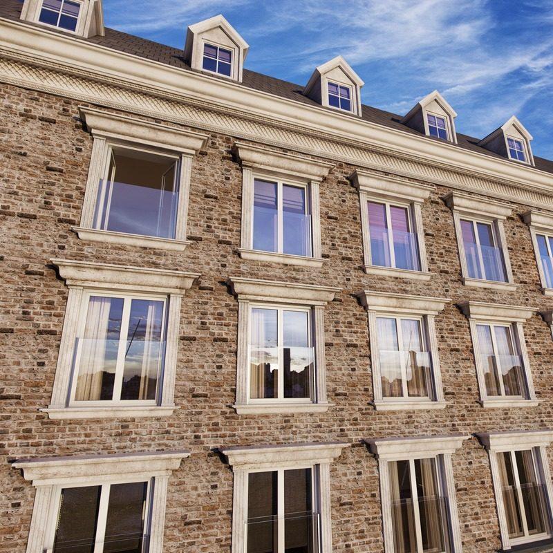 Q railing easy glass view per balconi alla francese - Altezza parapetti finestre normativa ...